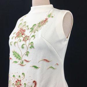 Vintage Dresses - Vintage Montgomery Ward Floral Scooter Dress